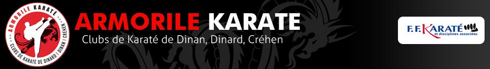 Armorile Karaté : Club de Karaté & Self Défense Dinan, Dinard, Créhen
